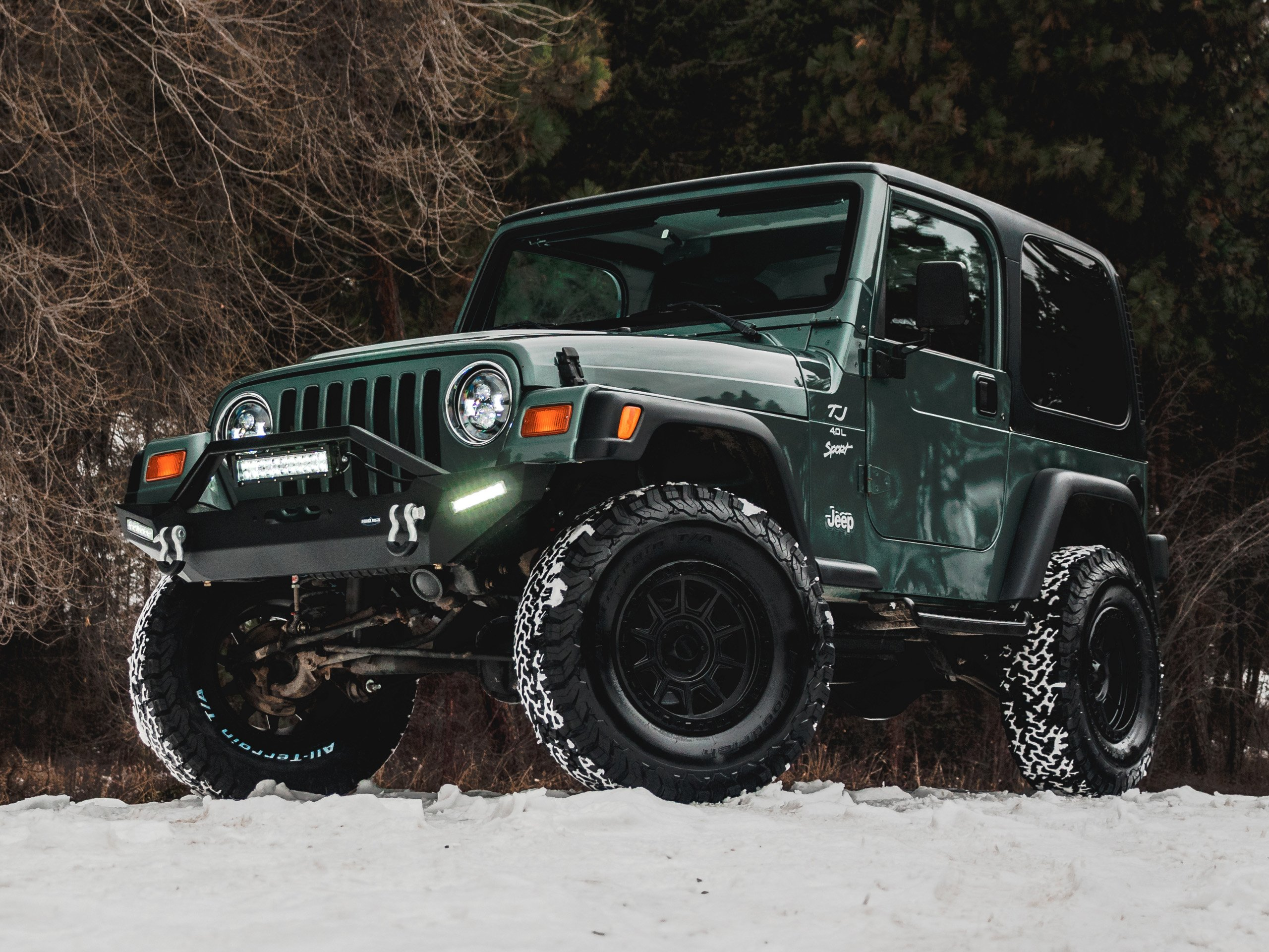 Modified Jeep - August Garage in Kelowna - Jeep Okanagan