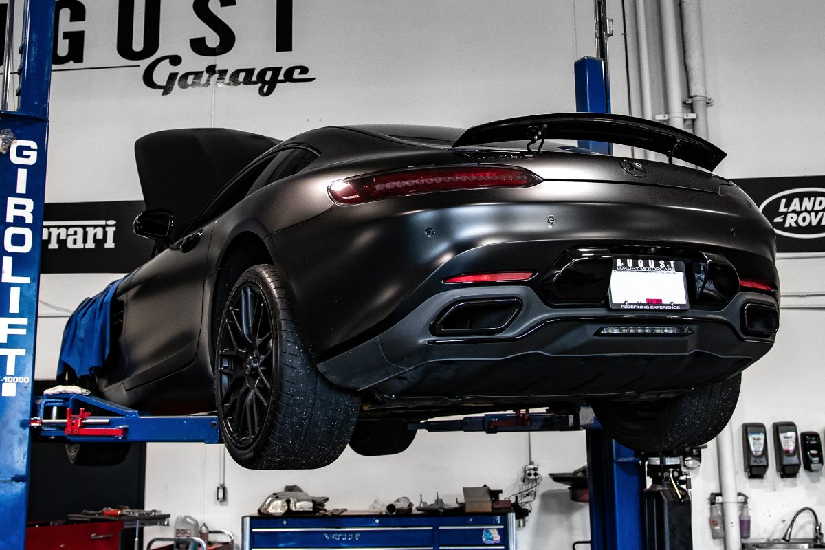 Eurocharged Tuned Mercedes AMG GT S Modified by August Garage in Kelowna BC