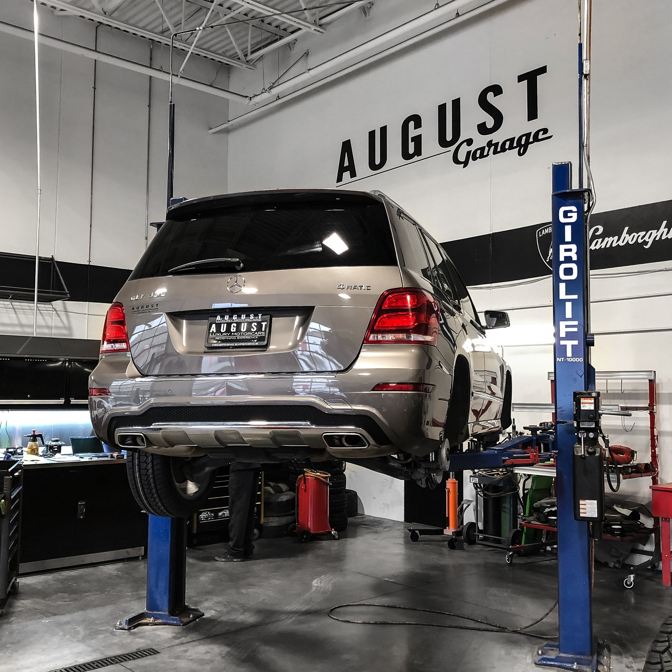 Mercedes-Benz Repair and Maintenance at August Garage in Kelowna BC