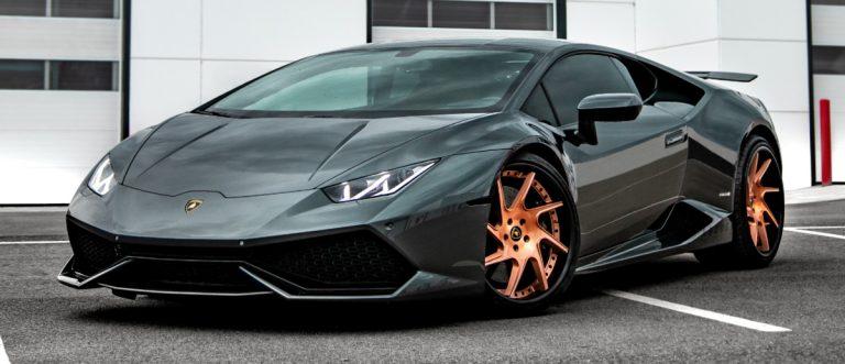 Modified Lamborghini Huracan on Avant Garde Wheels - August Garage in Kelowna BC