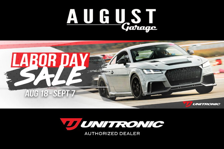 Unitronic Tuning Labour Day Sale - August Garage - Authorized Unitronic Dealer in Kelowna BC
